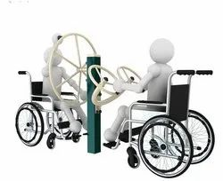 Specially Abled Shoulder Wheel