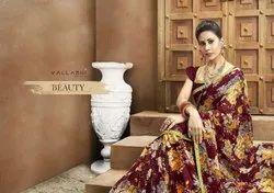 Bishakha Vol 2 By Vallabhi Chiffon Printed Casual Wear Saree