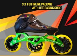 3 x 100 Inline Package with Lite Racing Shoe