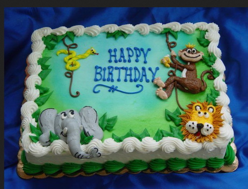 Awe Inspiring Multicolor Animal Cake 3Kgs Rs 2499 Piece Coolcake In Id Funny Birthday Cards Online Alyptdamsfinfo