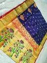 Tana Silk Paithani Work Sarees