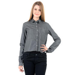 Ladies Crop Shirt