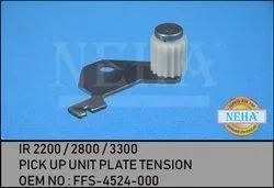 Pick Up Unit Plate Tension  IR 2200 / 2800 / 3300   OEM No : FFS-4524-000