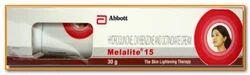 Melalite 15 Cream, Normal Skin, Packaging Size: 30gm,50gm