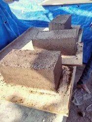 Concrete Rectangular Solid Blocks, Size: 16 in x 8 in x 8 in