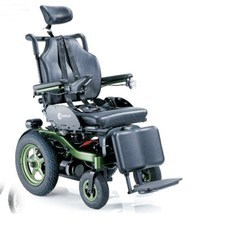 Comfortable Reclining Power Wheelchair