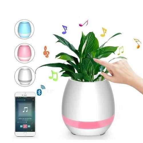 Flower Pot Bluetooth Speaker