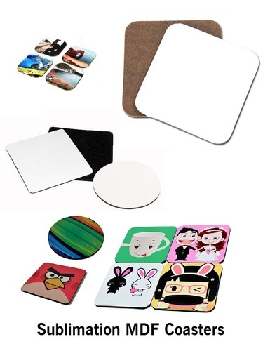 photo relating to Printable Coasters named Sublimation Printable Mdf Coasters
