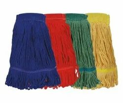 Colour Coded Refill for Wet Mop, Grade: Pure Virgin Cotton, Size: 6 Inch Width