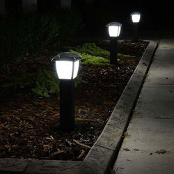 Solar Bollard LED Path Way Light