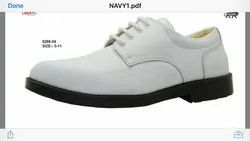 Navy White Shoe