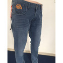 Dobby Lycra Casual Wear Superdry Jeans For Men, Waist Size: 34