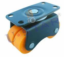 ustar Revolving Four Wheel Castor, Size: 30mm, u44