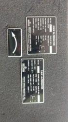 Machinery Name Plates