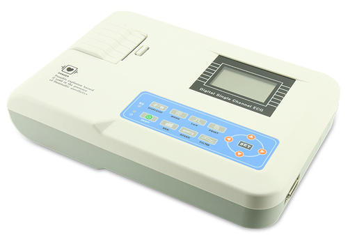 Single Channel ECG Machine Contec Cms 100g, Usage: Hospital