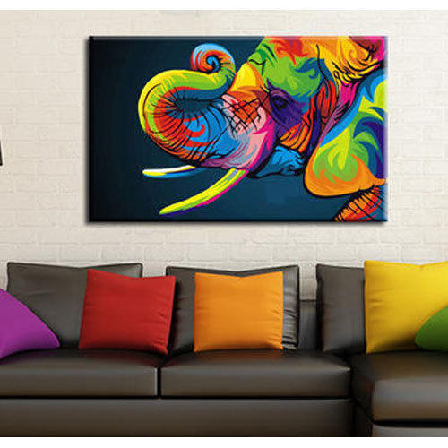 Living Room Canvas Painting at Rs 800 piece Canvas Painting ID