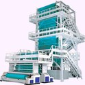 Ocean International Ms Three Layer Blown Film Extrusion Plant, Capacity: 150 - 300 ( Kg/hr )