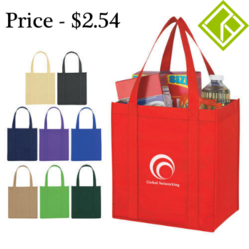 Reusable Non Woven Carry Bag, Usage: Shopping