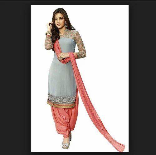 6c47df6ea8 Party Wear Georgette Salwar Suit Material, Rs 900 /piece | ID ...