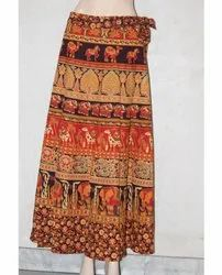 Jaipuri Cotton Rapron Skirt