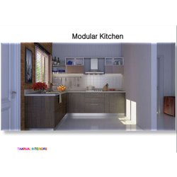 Ply Residential Modular Kitchen, Warranty: 20 Year