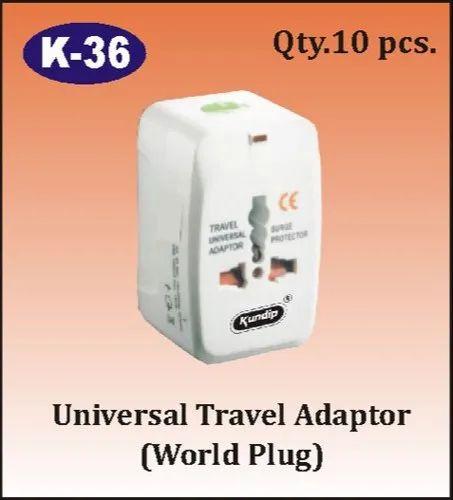 K-36 Universal Travel Adapter