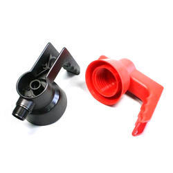 Black, Red High Quality Plastic Moulded Parts