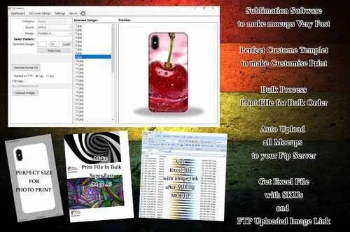 Sublimation Mockup Software
