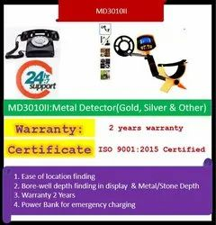 Metal / Gold Detector(Md3010ii) Professional Underground Machine(Super Scanner)