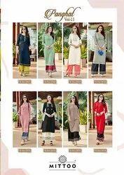 Stitched Casual Wear Ladies Designer Rayon Kurti