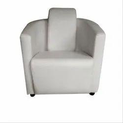 Cushion Back Single Seater Sofa, Seating Capacity: 1