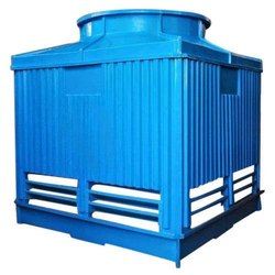 Fiberglass Reinforced Polyester Square Cooling Tower, for Industrial