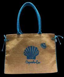 15 Inch  Brown Beach Bags