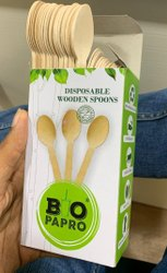 Eco Friendly Disposable Wooden Spoon