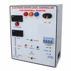 Automatic Borewell Water Level Controller