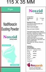 Nadifloxacin Dusting Powder