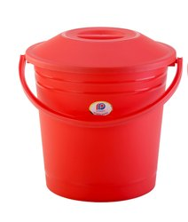 Plastic Bucket With Lid Frosty 13 Ltr