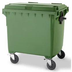 Airsoft 660 Ltrs Wheel Garbage Bin