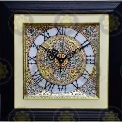 Marble Handicraft Wall Clock