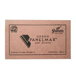 Green Panelmax MDF Board, Thickness: 18 Mm