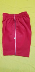 Kids Red School Uniform Short