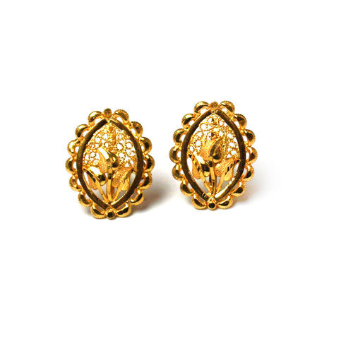 85ff252ad Gold Antique Tops, Ear Tops - Vishesh Jewels & Craft Overseas, New ...