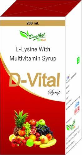 L-Lysine with Multivitamin Syrup - Belmach Life Sciences, Panchkula