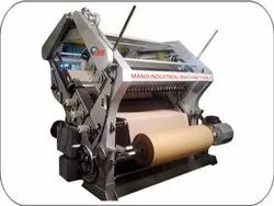 Double Profile Single Face Paper Corrugated Machine