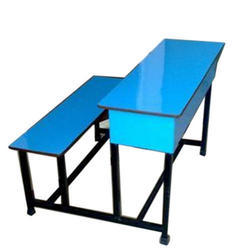 Dual Desk Blue & Yellow Shade