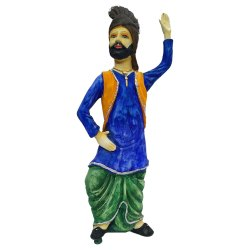 Men Bhangra Statue