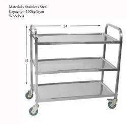 3 Tier multi utility cart trolley