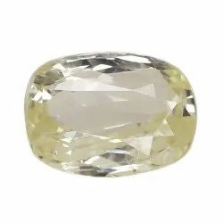 Cushion - Cut Unheat Yellow Sapphire