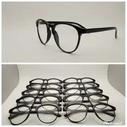 Fiber Black fashion sunglasses, Size: Medium
