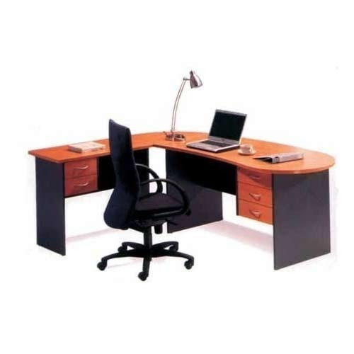0876128ca45 Wooden L Shape Modular Executive Office Table